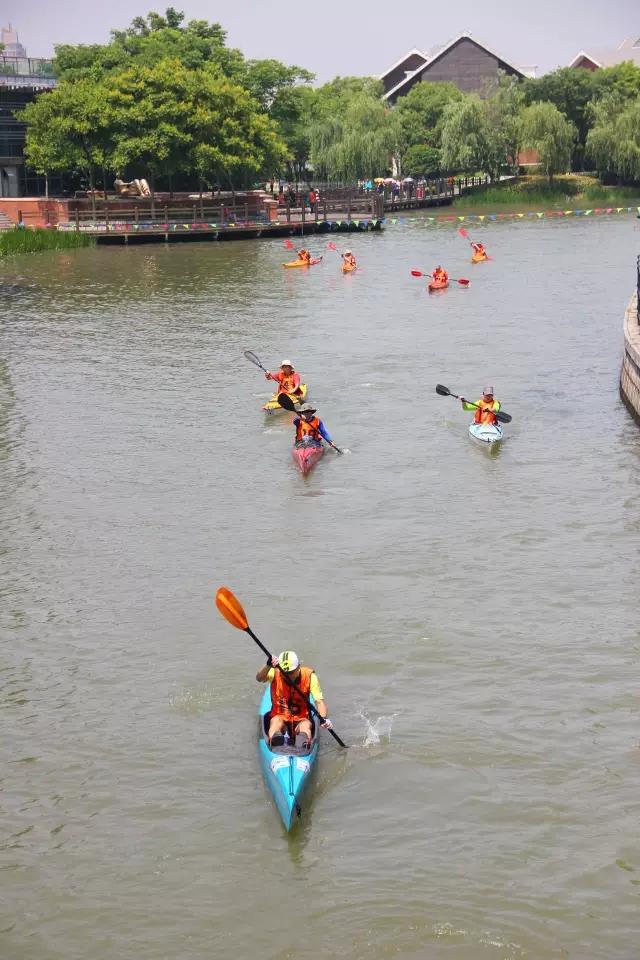 上海松江华亭湖水上马拉松赛圆满结束