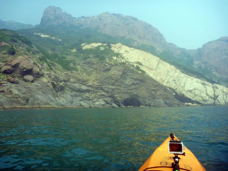 青岛飞龙皮划艇俱乐部——海划灵山岛 创造双第一