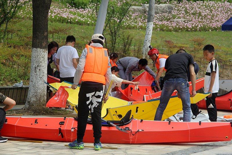 水之趣-五一假期澎逸折叠皮划艇游玩