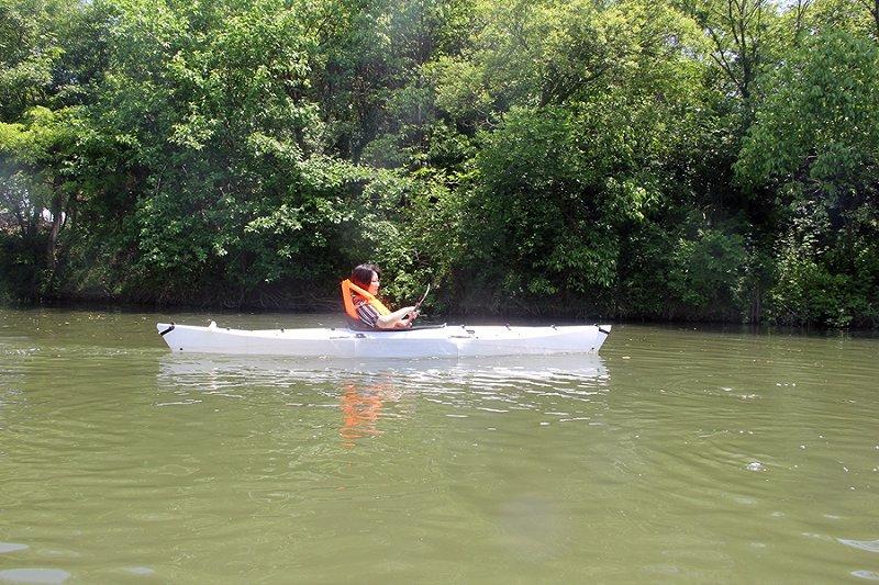 好友两三 悠闲一天,不一样的澎逸折叠皮划艇生活