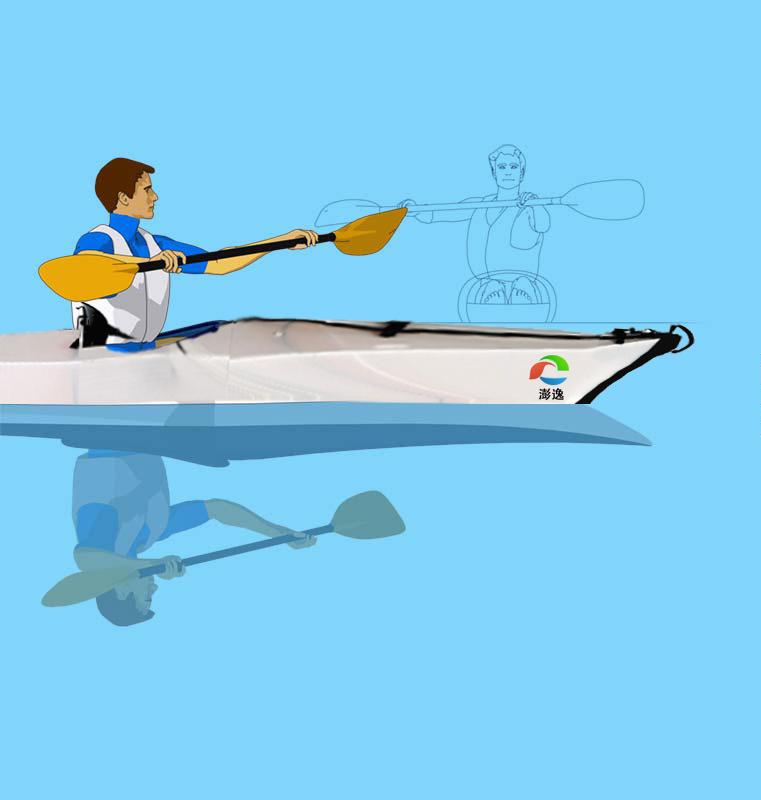 皮划艇基础教程-澎逸动画演示版 (第五课 正向用桨)